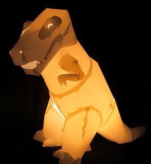 DIYnosaur: lampade notturne per bambini… preistoriche