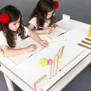 IO Kids Design al Design Junction, nuovi Tavoli e Scrivanie
