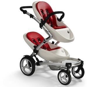 KOBI: passeggino doppio, per un bambino, due fratelli, due gemelli!