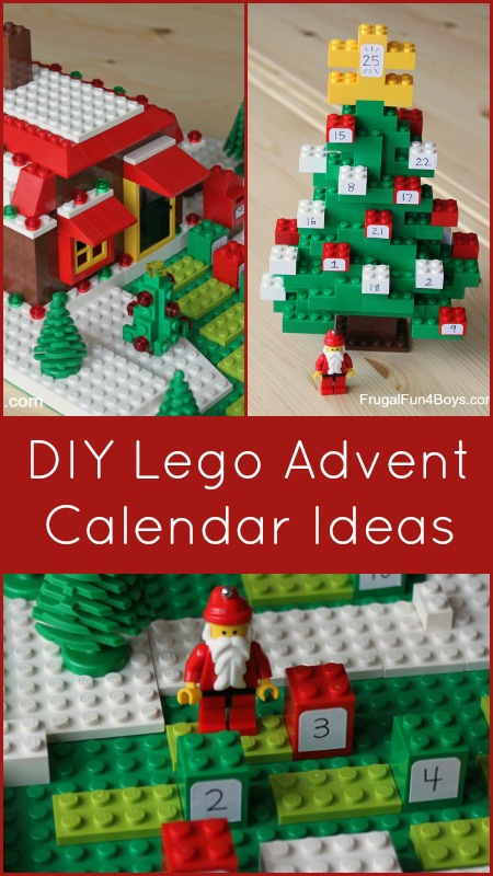 calendario avvento fai da te LEGO