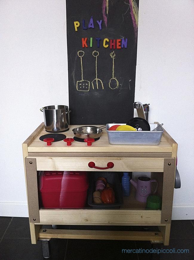 Come ho costruito la cucina giocattolo per i miei bambini ...