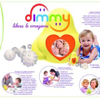 Dimmy, il giocattolo che educa alle emozioni, in cerca di produttori