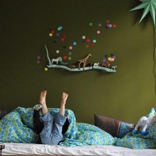 Decoro le pareti della cameretta: ispirazioni