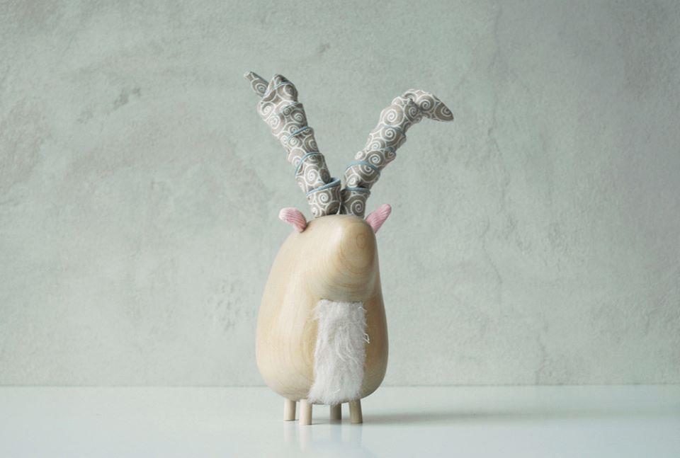 ariete_poleno animali legno - wood toys
