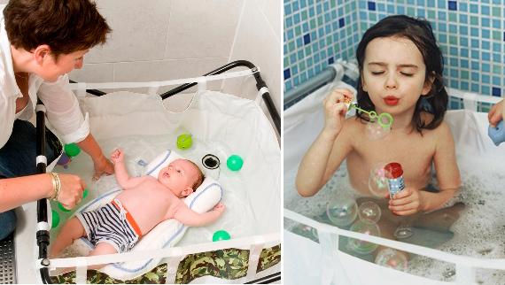 Vasca Da Bagno Bimbi : Trasforma la doccia in un bagnetto o piscinetta! mercatino dei piccoli
