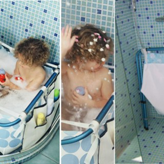 Trasforma la doccia in un bagnetto o piscinetta!