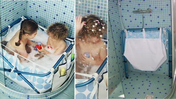 Trasforma la doccia in un bagnetto o piscinetta - Vasca da bagno bambini ...