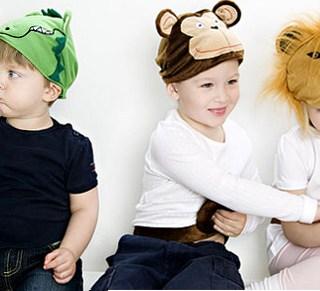 Cappelli + coda: un costume facile per i bambini