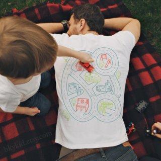 Maglietta con massaggio, per il papà