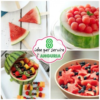 8 idee per servire l'Anguria: the WatermelonParty
