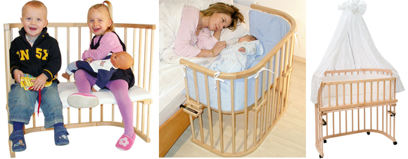 3 culle per il co sleeping mercatino dei piccoli - Culla che si attacca al letto prenatal ...