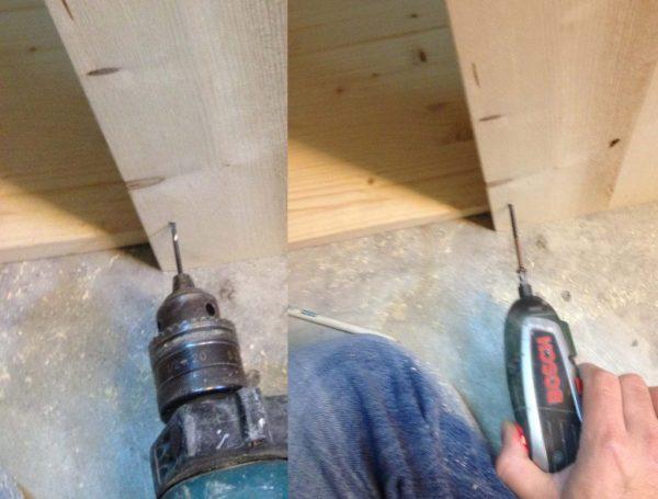 guest post: come costruire una cucina giocattolo in legno per i ... - Costruire Cucina