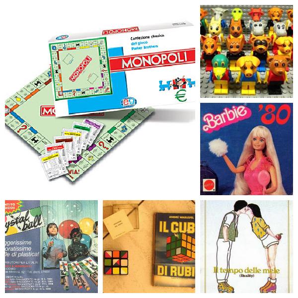 i miei giochi anni '80