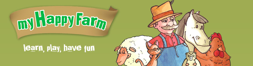 my happy farm, app for kids