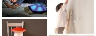 Idee per l'illuminazine di una cameretta
