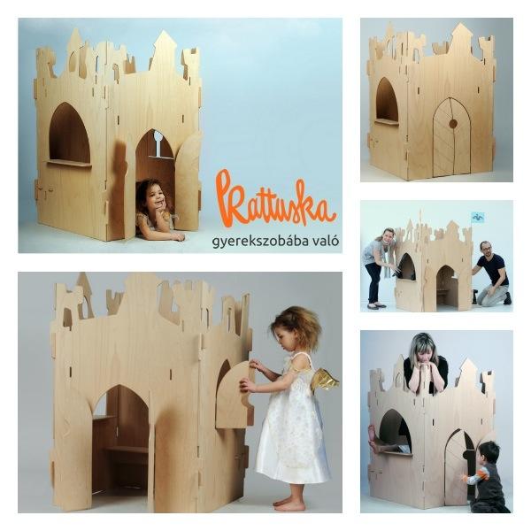 Castello legno kattuska