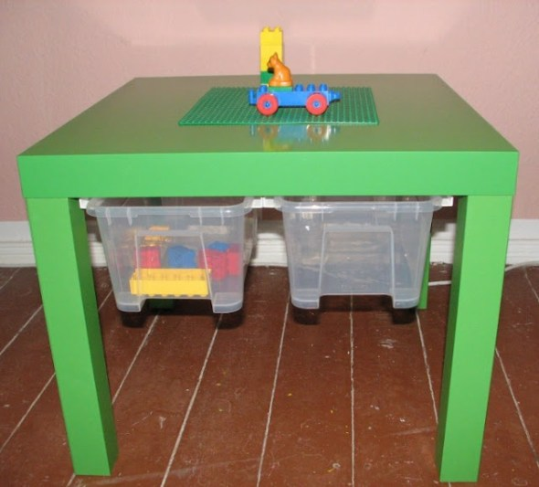lack table hack drawers