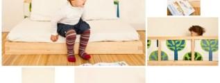 Lettini per bambini di ispirazione montessoriana e jap