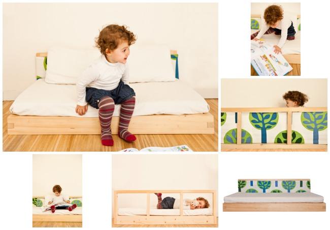 Lettini per bambini di ispirazione montessoriana e jap - Letto basso per bambini ...
