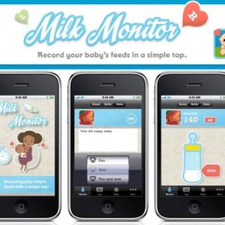 Le mamme 2.0 usano Milk Monitor