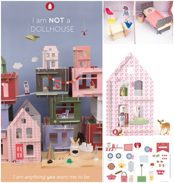 not a dollhouse - lille huset