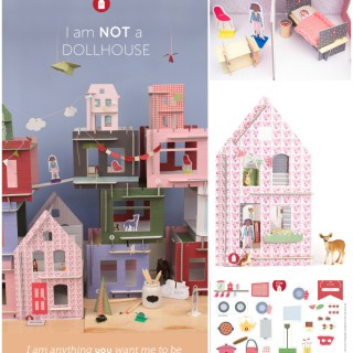 Piccole Case in kit da decorare: Lille Huset