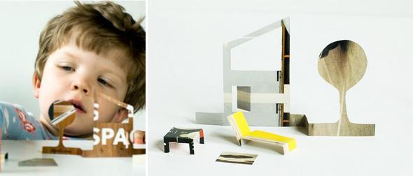 casa delle bambolo di carta