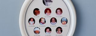 Portafoto da 0 a 12 mesi