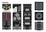 Robox= contenitore per giochi + sgabello + robot + decorazione da parete