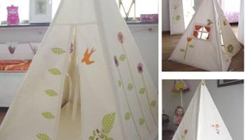 10 tende o tepee per la cameretta o anche per il giardino ^