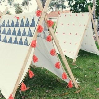 10 tende o tepee per la cameretta, o anche per il giardino