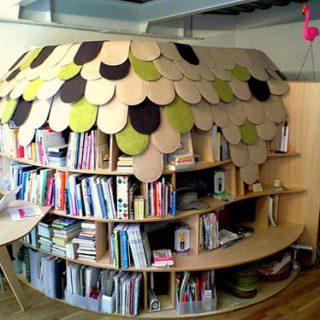 Un igloo per dormire e per leggere