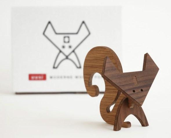 modern wood animals