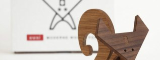 Modern Wood Animals, pensati per adulti che amano giocare