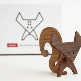 modern wood animals