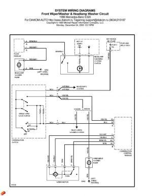 W210 Headlamp Washer Wiring  Mercedes Forum  Mercedes