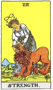 Tarot Strength Lion