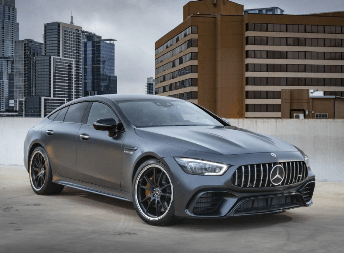 2019 Mercedes Benz AMG GT Coupe Concept