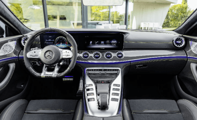 2019 Mercedes Benz AMG GT Coupe Interior