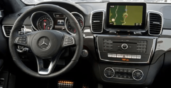 2019 Mercedes Benz GLT Interior
