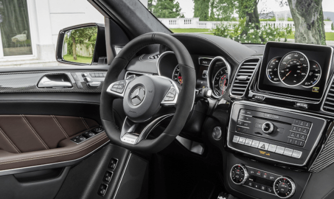 2020 Mercedes GLS 550 Interior