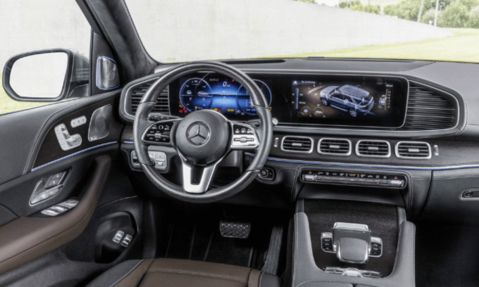2020 Mercedes Benz GLS AMG Interior