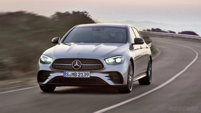 Mercedes-Benz E-Class Lineup Gets Refreshed With New Tech