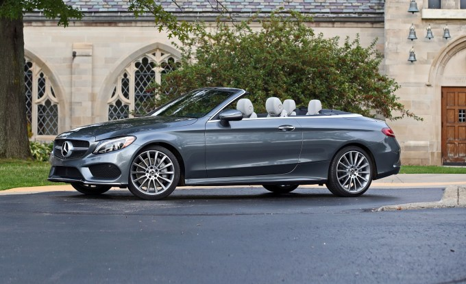 2018 Mercedes Benz C class Coupe And Cabriolet In Depth