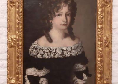 Óleo sobre lienzo Marquesa de Montespan