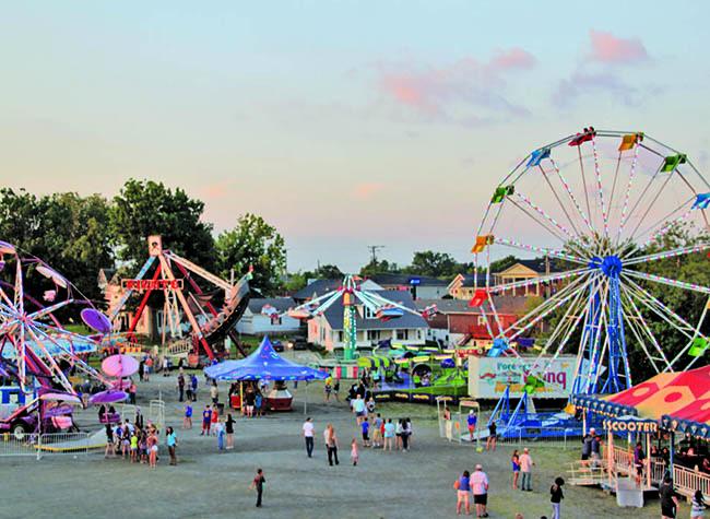 Mercer Fair Midway