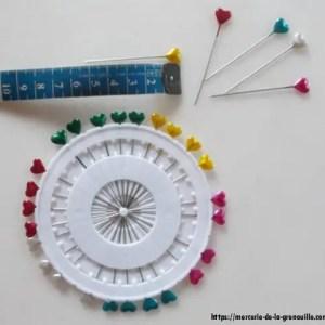 réf : 3-3-001 épingles de couture 30 pièces