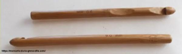 réf 02-02-09 crochet en bambou n 9