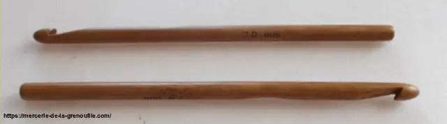 réf 02-02-07 crochet en bambou n 7