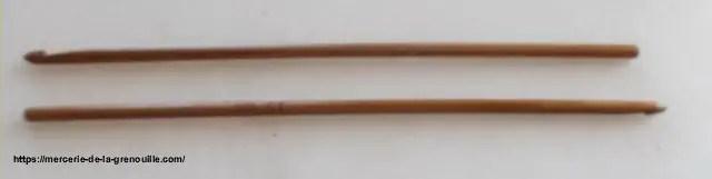 réf : 02-02-04 crochet en bambou n 4
